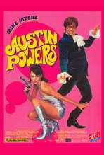 Austin Powers: International Man of Mystery - 27 x 40 Movie Poster - French Style A