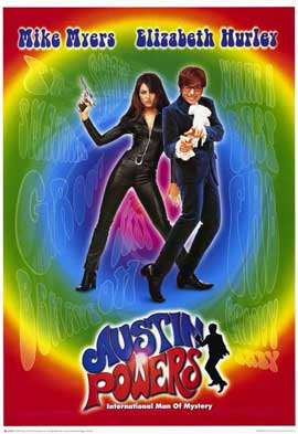 Austin Powers: International Man of Mystery - 11 x 17 Movie Poster - Style A