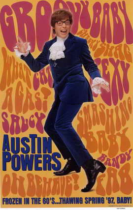 Austin Powers: International Man of Mystery - 11 x 17 Movie Poster - Style C
