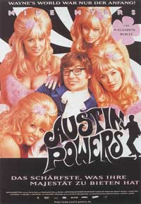Austin Powers: International Man of Mystery - 11 x 17 Movie Poster - German Style A