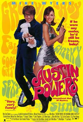 Austin Powers: International Man of Mystery - 27 x 40 Movie Poster - Style C