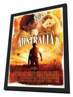 Australia - 27 x 40 Movie Poster - Style D - in Deluxe Wood Frame