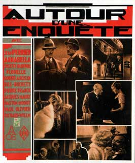 Autour d'une enquete - 11 x 17 Movie Poster - French Style A