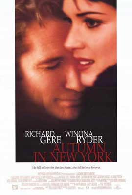 Autumn in New York - 11 x 17 Movie Poster - Style A