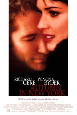 Autumn in New York - 27 x 40 Movie Poster - Style A
