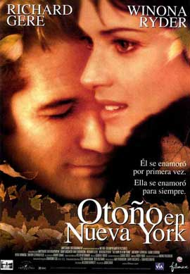 Autumn in New York - 27 x 40 Movie Poster - Spanish Style A