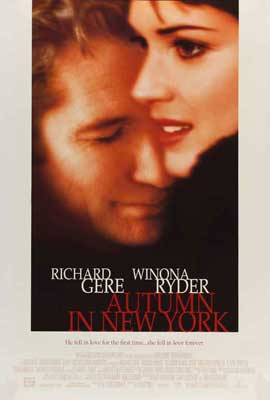 Autumn in New York - 27 x 40 Movie Poster - Style B