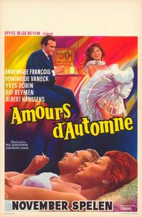 Autumn Love - 11 x 17 Movie Poster - Belgian Style A
