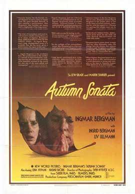 Autumn Sonata - 27 x 40 Movie Poster - Style A