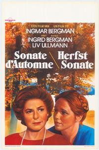 Autumn Sonata - 27 x 40 Movie Poster - Belgian Style A