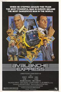 Avalanche Express - 27 x 40 Movie Poster - Style A