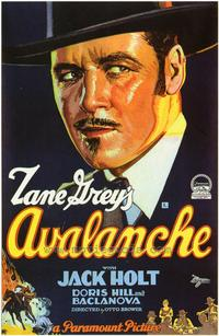 Avalanche - 43 x 62 Movie Poster - Bus Shelter Style A
