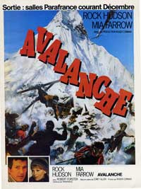Avalanche - 11 x 17 Movie Poster - French Style A