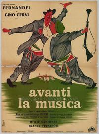 Avanti La Musica - 11 x 17 Movie Poster - Italian Style A