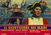 Avenger of the Seven Seas - 11 x 17 Movie Poster - Spanish Style A