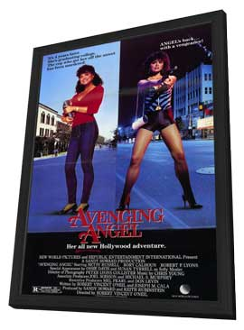 Avenging Angel - 11 x 17 Movie Poster - Style A - in Deluxe Wood Frame