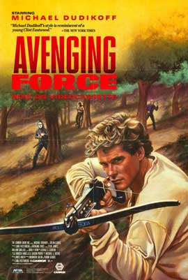 Avenging Force - 11 x 17 Movie Poster - Style B
