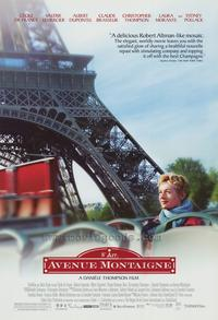 Avenue Montaigne - 43 x 62 Movie Poster - Bus Shelter Style A