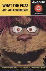 Avenue Q (Broadway) - 11 x 17 Poster - Style C