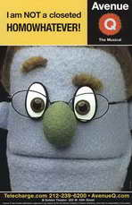 Avenue Q (Broadway) - 11 x 17 Poster - Style D