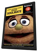 Avenue Q (Broadway) - 11 x 17 Poster - Style B - in Deluxe Wood Frame