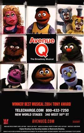 Avenue Q (Broadway) - 14 x 22 Poster - Style E