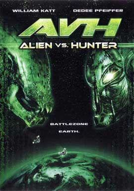 AVH: Alien vs. Hunter - 11 x 17 Movie Poster - Style A