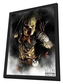 AVPR: Aliens vs Predator - Requiem - 27 x 40 Movie Poster - Style C - in Deluxe Wood Frame