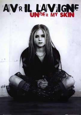 Avril Lavigne - 11 x 17 Music Poster - Style B