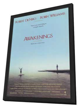 Awakenings - 11 x 17 Movie Poster - Style A - in Deluxe Wood Frame