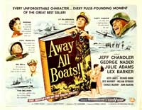 Away All Boats - 22 x 28 Movie Poster - Half Sheet Style A