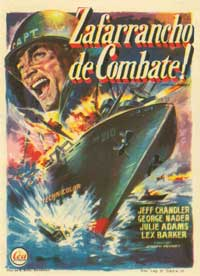 Away All Boats - 11 x 17 Movie Poster - Spanish Style A