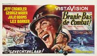 Away All Boats - 11 x 17 Movie Poster - Belgian Style A