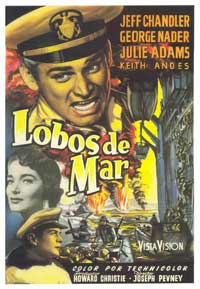 Away All Boats - 27 x 40 Movie Poster - Spanish Style A