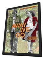 Away We Go - 11 x 17 Movie Poster - Style A - in Deluxe Wood Frame