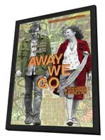 Away We Go - 27 x 40 Movie Poster - Style A - in Deluxe Wood Frame
