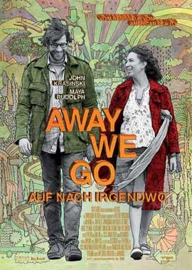 Away We Go - 27 x 40 Movie Poster - German Style A