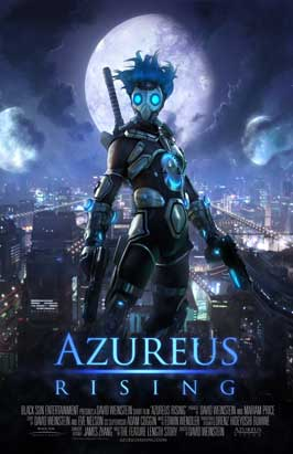Azureus Rising - 11 x 17 Movie Poster - Style B
