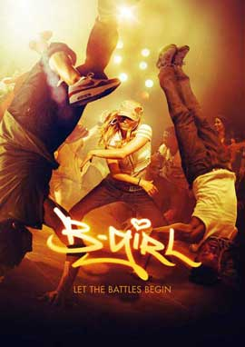 B-Girl - 11 x 17 Movie Poster - German Style A