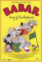 Babar: King of the Elephants - 27 x 40 Movie Poster - Style A