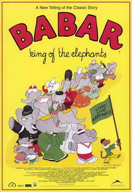 Babar: King of the Elephants - 11 x 17 Movie Poster - Style A
