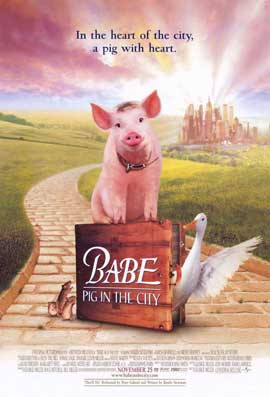 Babe: Pig in the City - 11 x 17 Movie Poster - Style A