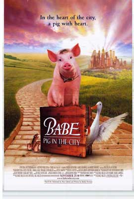 Babe: Pig in the City - 27 x 40 Movie Poster - Style A
