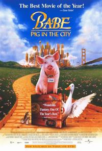 Babe: Pig in the City - 27 x 40 Movie Poster - Style B