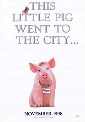 Babe: Pig in the City - 27 x 40 Movie Poster - Style C