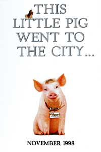 Babe: Pig in the City - 43 x 62 Movie Poster - Bus Shelter Style A