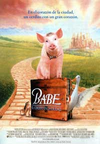 Babe: Pig in the City - 11 x 17 Movie Poster - Spanish Style A