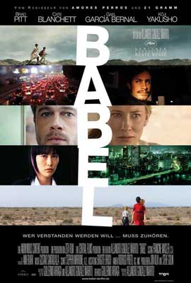 Babel - 27 x 40 Movie Poster - German Style A