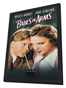 Babes in Arms - 11 x 17 Movie Poster - Style A - in Deluxe Wood Frame
