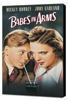 Babes in Arms - 11 x 17 Movie Poster - Style A - Museum Wrapped Canvas